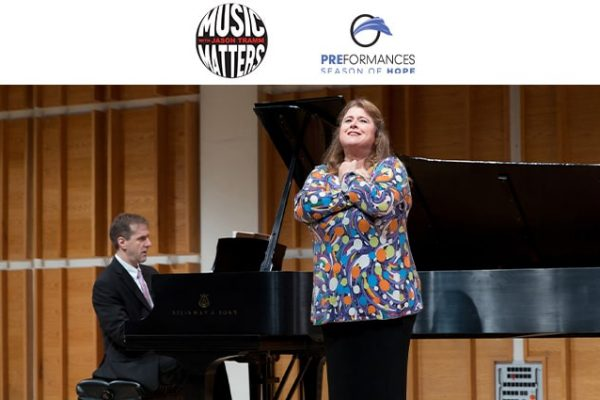 allison charney performs at merkin hall